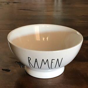"Rae Dunn ""Ramen"" Cereal/Soup Bowls-NWOT"